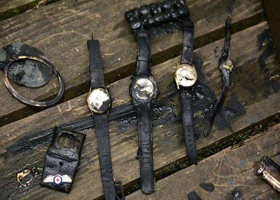 hodinky nájdené magnetom