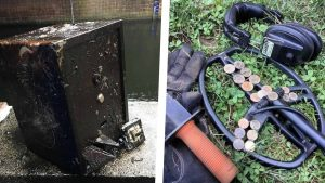 magnet fishing detektor kovů