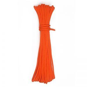 15 metrov oranžové lano 6mm