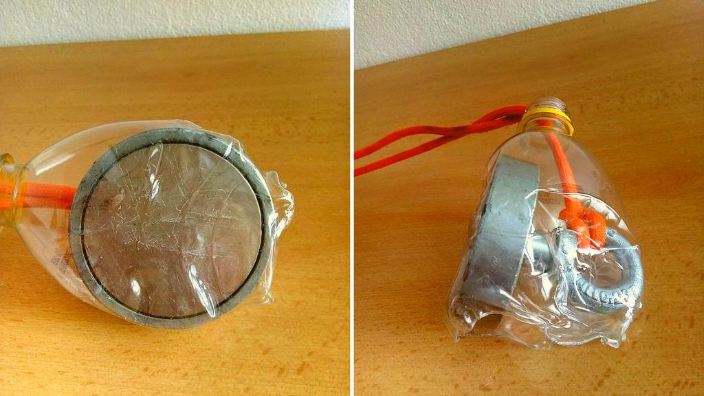 Pouzdro na prasklý magnet