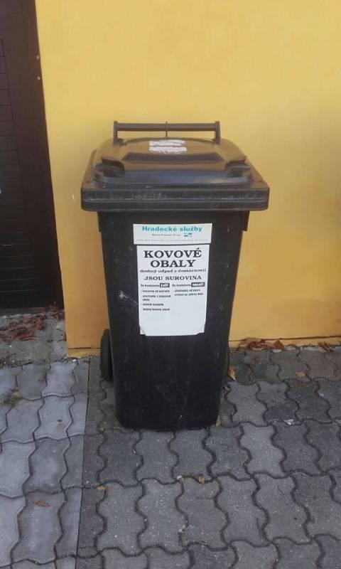 Odpadkový koš Popelka